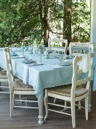luxurious linen jacquard tablecloth mist linens u0026 kitchen
