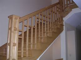 Wood Banisters And Railings Craftsman Newel Post And Nice Baluster Design Stairs Pinterest