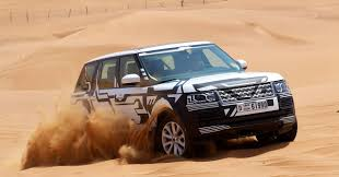land rover desert 2013 range rover weather testing dubai indian autos blog