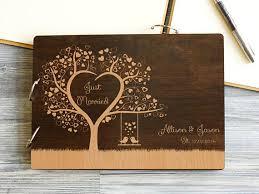 bridal guest book wedding guest book heart tree wedding guestbook bridal guestbook
