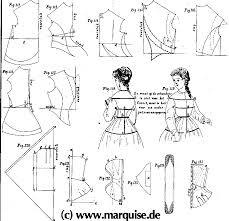 Mid Century Patterns by Mid 19th Century Sewing Patterns
