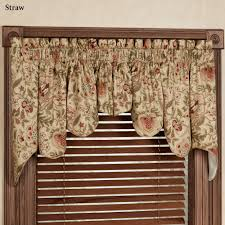 Valance Window Treatments by Window Curtain Swags Valances For Bedroom Waverly Kitchen