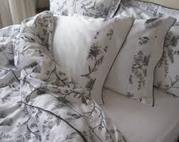 Queen Shabby Chic Bedding by Cream Pastel Blue Floral Ruffled Bedding Queen Size Duvet