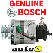 genuine bosch alternator fits toyota hilux ln106r 2 8l 3l u0026 2 4l