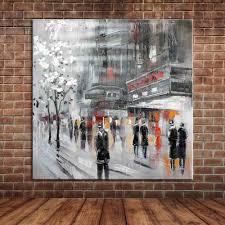 Peinture Moderne Pour Salon by Rue De La Ville Peinture Promotion Achetez Des Rue De La Ville