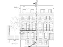 Georgian Floor Plan by Canonbury Square Roger Mears Architects