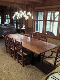 slab dining room table reclaimed siberian elm live edge slab dining table traditional