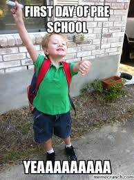Finding Meme - first day of school first day of school finding nemo meme