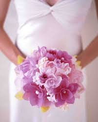 How To Make A Bridal Bouquet How To Make Paper And Fabric Flowers For Your Wedding Martha