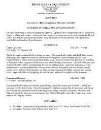 heavy equipment operator cover lett