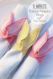 easter napkin rings 40 easter sewing projects ideas the polka dot chair