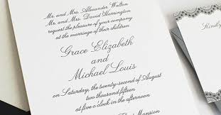 wording for wedding invitations new age wedding invitation wording etiquette tutzone