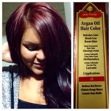 yay for fall hair color one u0027n only argan oil hair color 4r