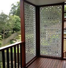patio privacy screen garden slat wall by 1 diy patio privacy