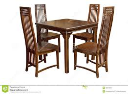 Dining Table Without Chairs Dining Table And Chairs Isolated Stock Image Image 31072317