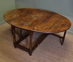 antique drop leaf gate leg table large eighteenth century country oak antique drop leaf gate leg