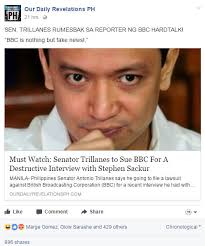 Bbc Memes - busted trillanes to sue bbc after his devastating interview with