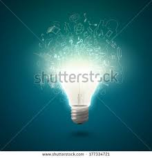 gold fish water inside electric light stock illustration 110608277