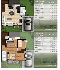 duplex house for sale modena liloan cebu callisto model duplex house for sale cebu
