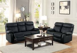 homelegance pendu reclining sofa set top grain leather match