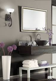 stay on trend this season by coating the walls of your bathroom