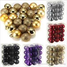 new year decoration glitter chic balls baubles
