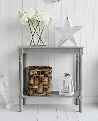 Small Console Table Colonial Furniture Range In Grey Console Table From The