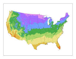 Map Of Time Zones In The Usa by Map Downloads Usda Plant Hardiness Zone Map