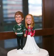 create a custom wedding cake topper that looks just like you