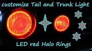 lexus altezza logo project altezza customize trunk light with led halo ring youtube