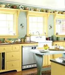 wall ideas for kitchen yellow kitchen ideas tbya co