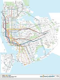 Map Of Queens Ny New York City Transportation Getting To Nyc By Plane Train Bus