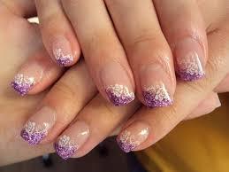 gel nail art purple nails art picture pinterest nail art