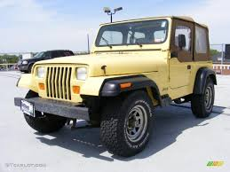 yellow jeep 1992 malibu yellow jeep wrangler s 4x4 28802584 photo 2