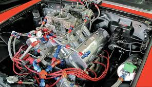 1955 ford thunderbird svo block engine muscle cars zone