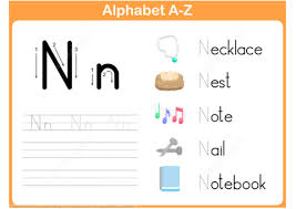 letter n tracing worksheet free printable puzzle games