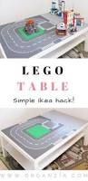 Lego Table Ikea by Diy Lego Table Make Your Own Lego Table Simple Ikea Hack Lego