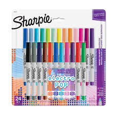 36 sharpie target black friday sharpie ultra fine electro pop marker assorted colors 24 set