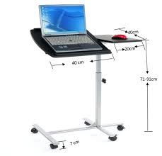 Standing Portable Desk Desk Laptop Desk Stand Table Cart Couch Bed Adjustable Standing