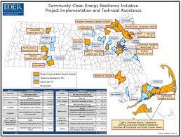 Mass Map Massachusetts Doer Awards 7 4 Million To Critical Infrastructure