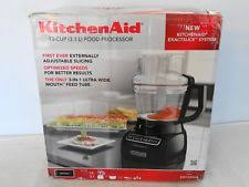 kitchenaid food processors with blender ebay