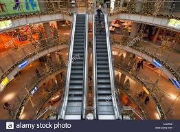 Pictures Of Christmas Decorations In Germany Escalators And Christmas Decorations In The Shopping Center City