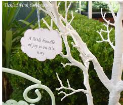 enchanted garden baby shower decoration little bundle on the way