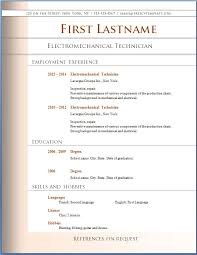 Resume Templates Free For Microsoft Word Free Downloadable Resume Templates For Microsoft Word Free