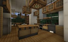 minecraft modern kitchen designs
