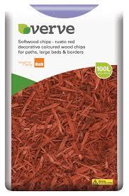 verve bark chipping 100l bulk bag departments diy at b q