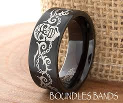 tattoo design wedding band ring mens tungsten ring tattoo