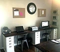 Office Desk For Two Office Desk Home Office Desk Farmhouse Cottage Style