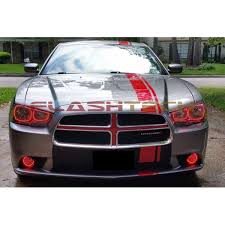 halo lights for 2013 dodge charger dodge charger v 3 fusion color change led halo headlight kit 2011
