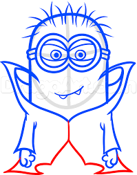 draw halloween minion step step halloween seasonal